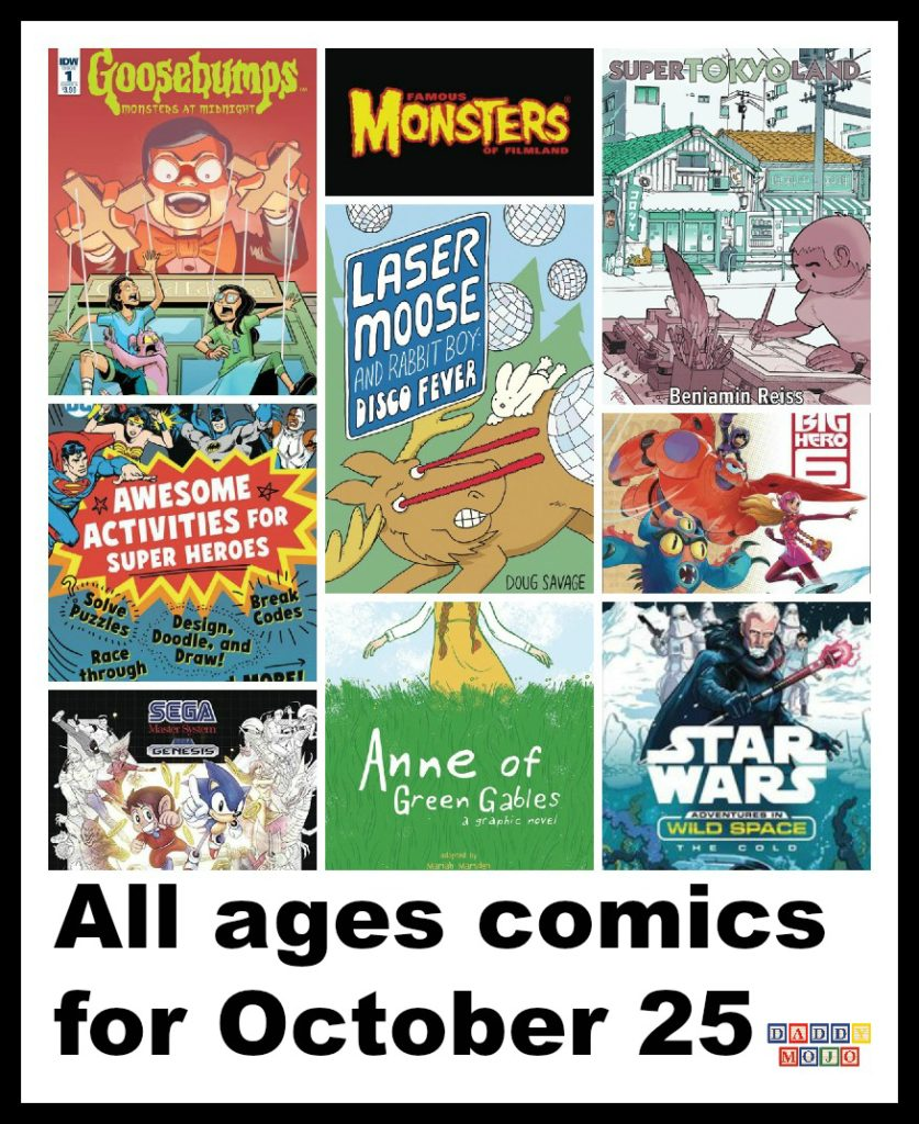 All ages comics for October 25 post