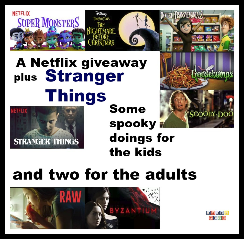 A Netflix giveaway, plus Stranger Things and other spooky doings