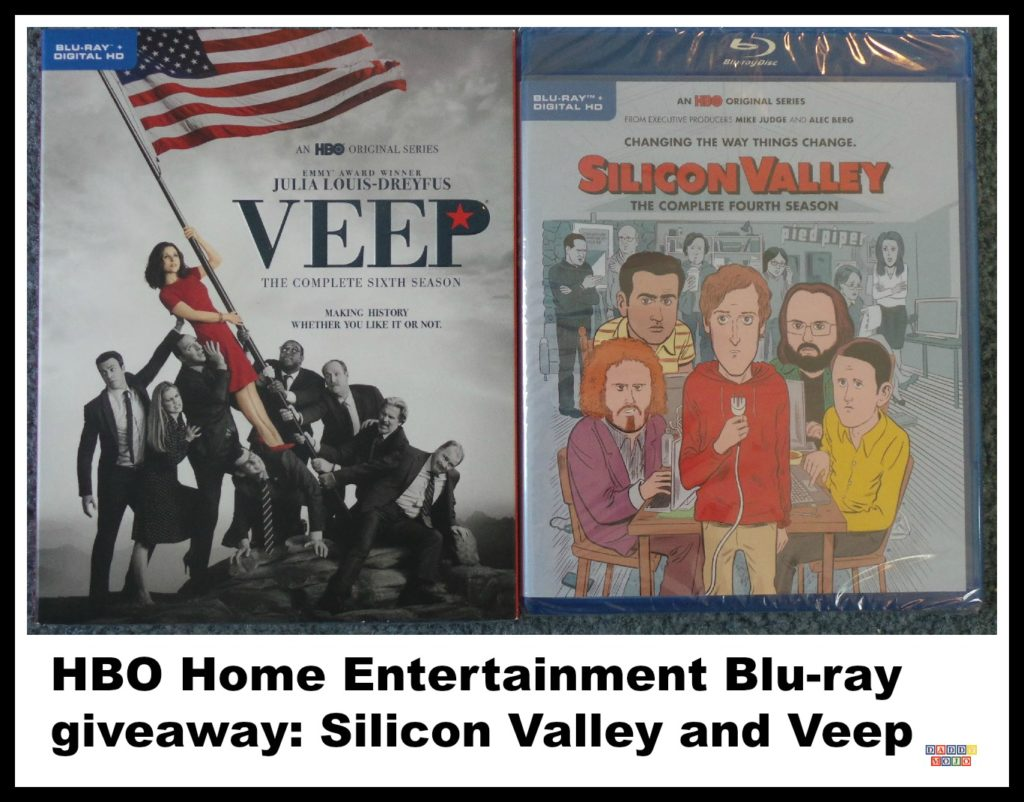 Veep, silicon valley, HBO, DVD