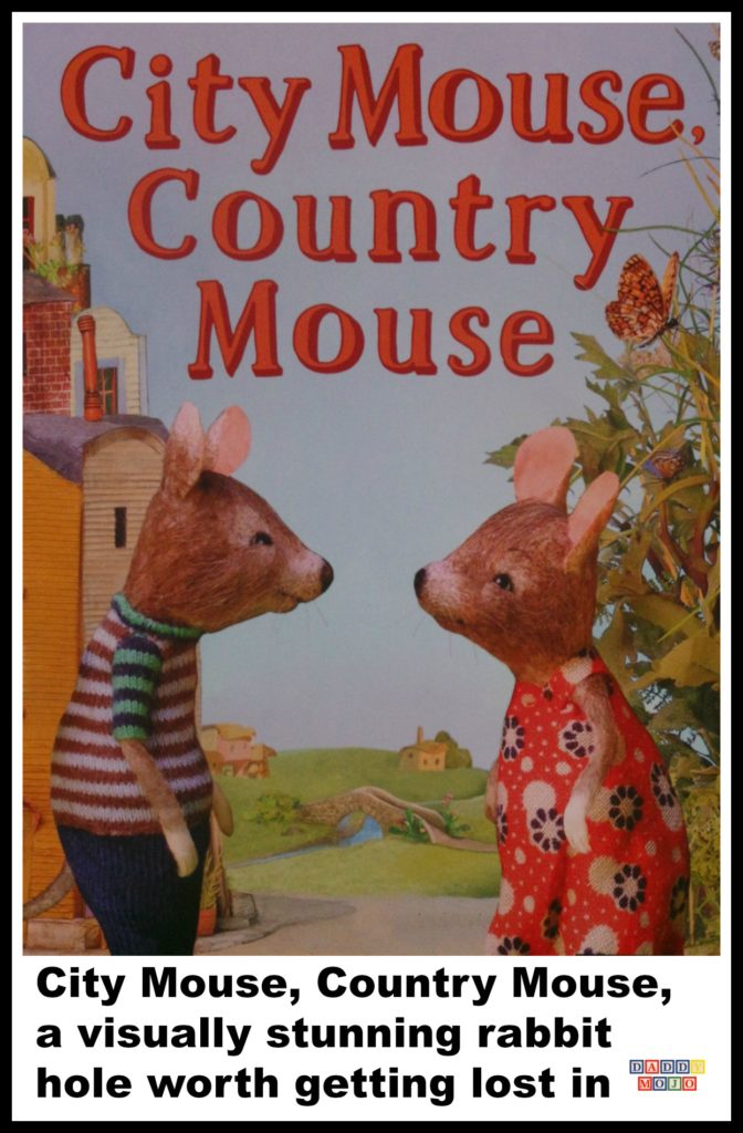 Image from City Mouse, Country Mouse by Maggie Rudy