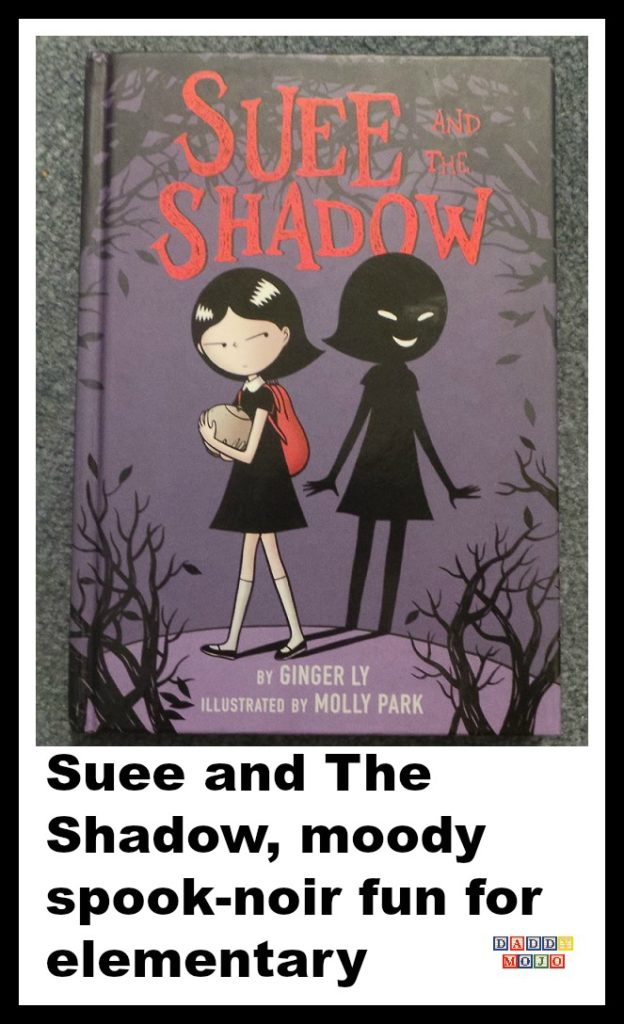 Suee and the shadow, ginger ly, molly park, graphic novel, pulp, noir, all age graphic novel