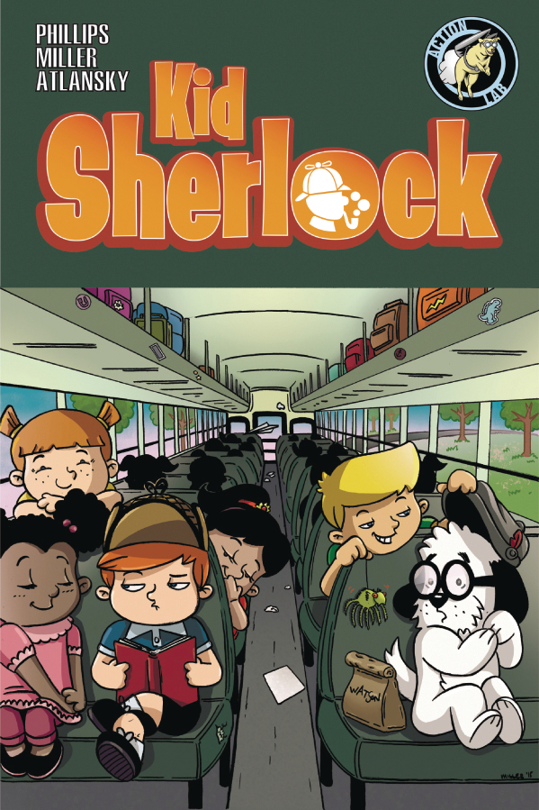 All ages comics for November 15, Kid Sherlock