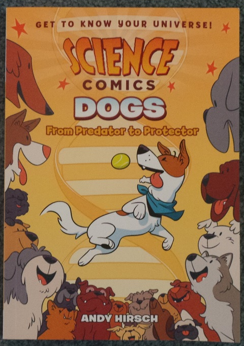 All ages comics for November , Science comics, Dogs