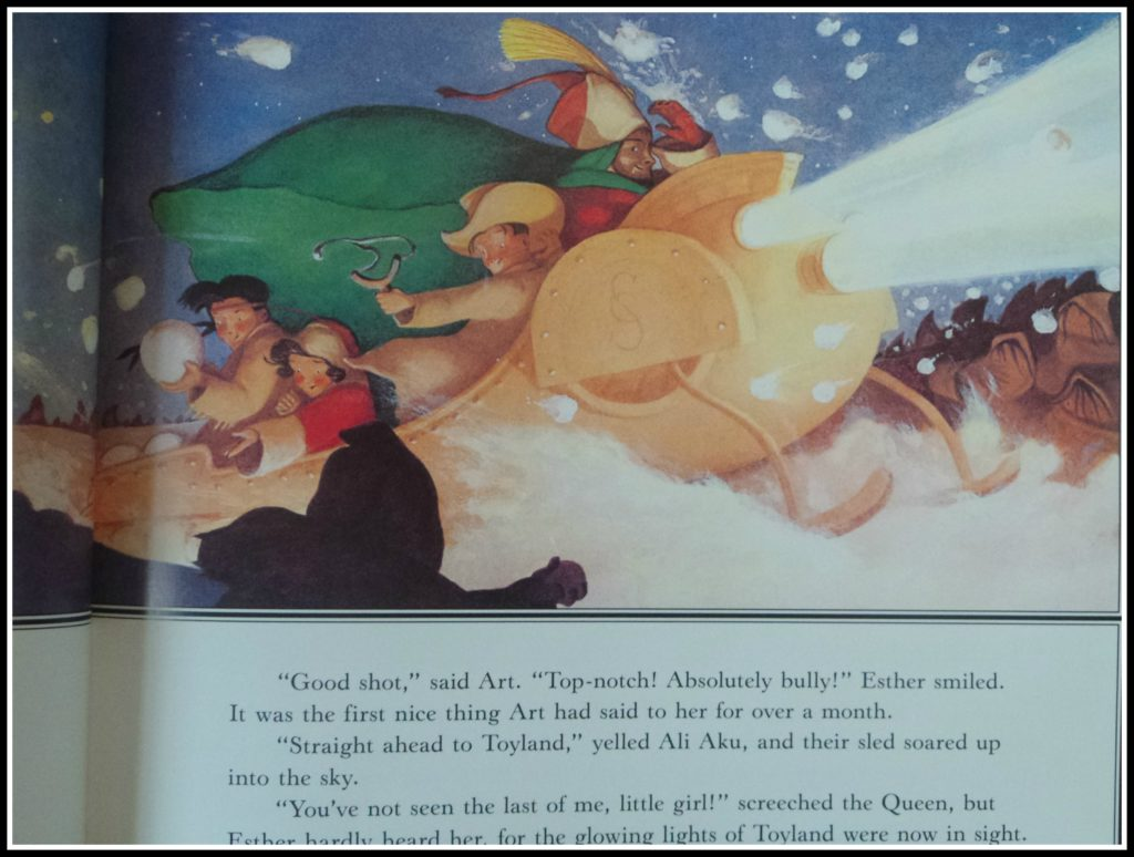 Image from Santa Calls by William Joyce, published by Simon & Schuster