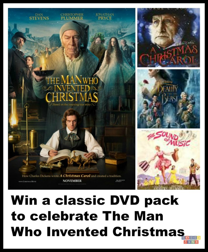 Win a classic DVD pack to celebrate The Man Who Invented Christmas