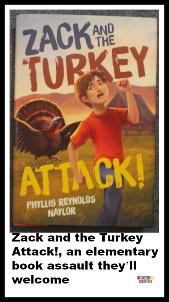 Zack and the turkey attack, Phyllis Reynolds Naylor, middle grade, middle school, tailpipe, turkey, book