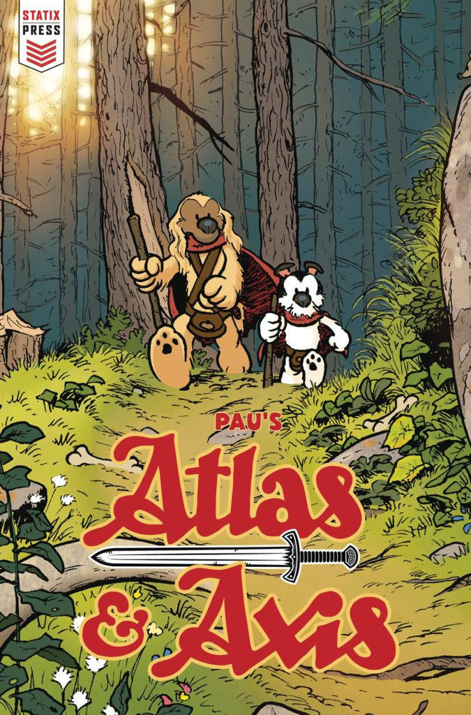all ages comics, Atlas and Axis