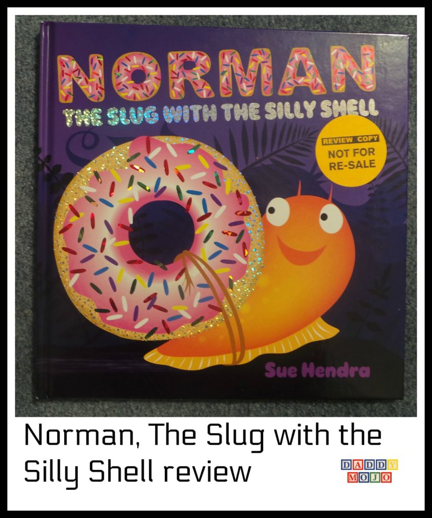 Norman, silly snail, sue Hendry, norman the slug with the silly shell, childrens book
