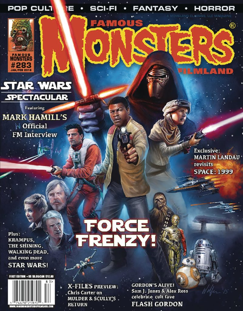 all ages comics, famous monsters, star wars