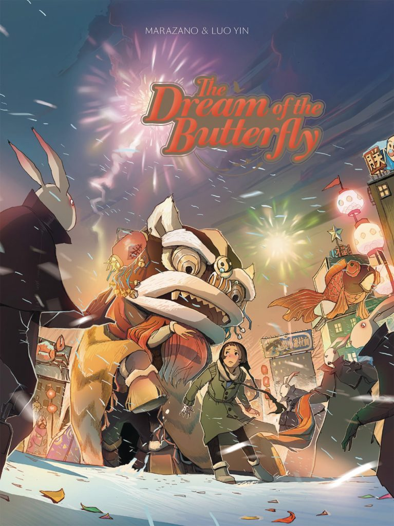 all ages comics, dream of the butterfly