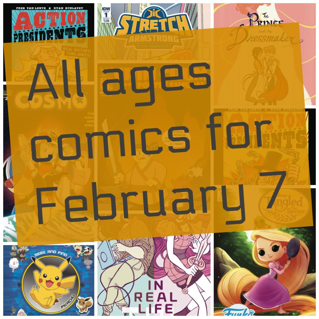 Mech cadet yu, back to the future, adventure time, all ages comics, comic books, all age comics,