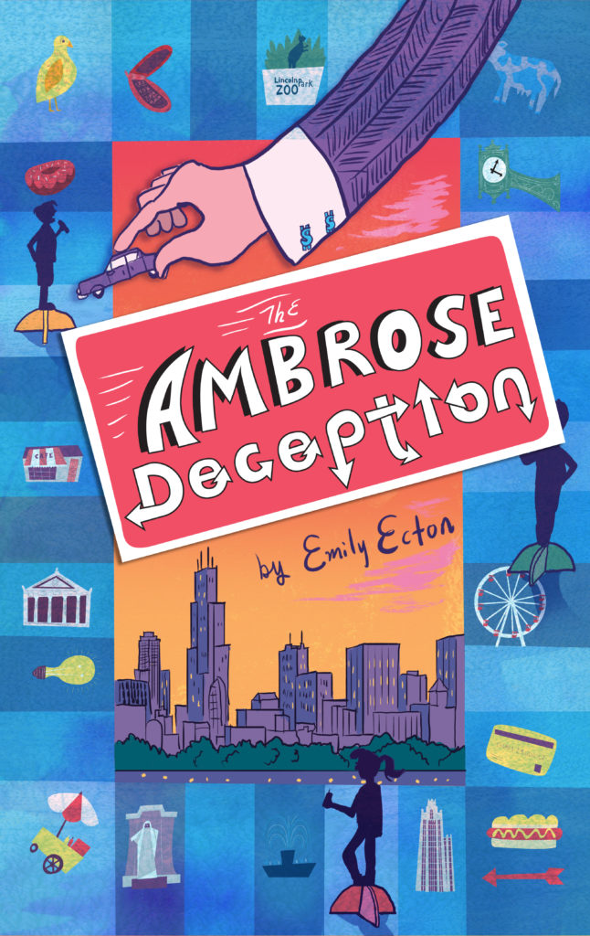 The Ambrose Deception is middle school, entertainment reading gold, emily ecton, the ambrose deception