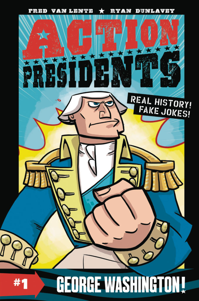 Mech cadet yu, back to the future, adventure time, all ages comics, comic books,  all age comics, action presidents, george washington