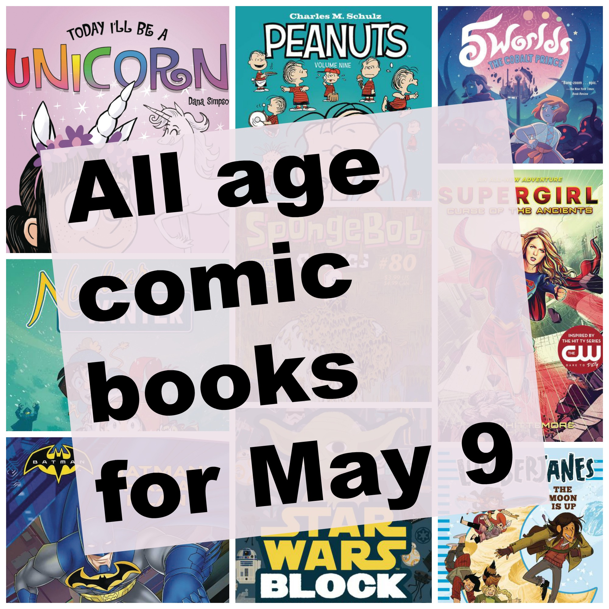 Free Comic Book Day May 2018: All Age Comic Books For May 9