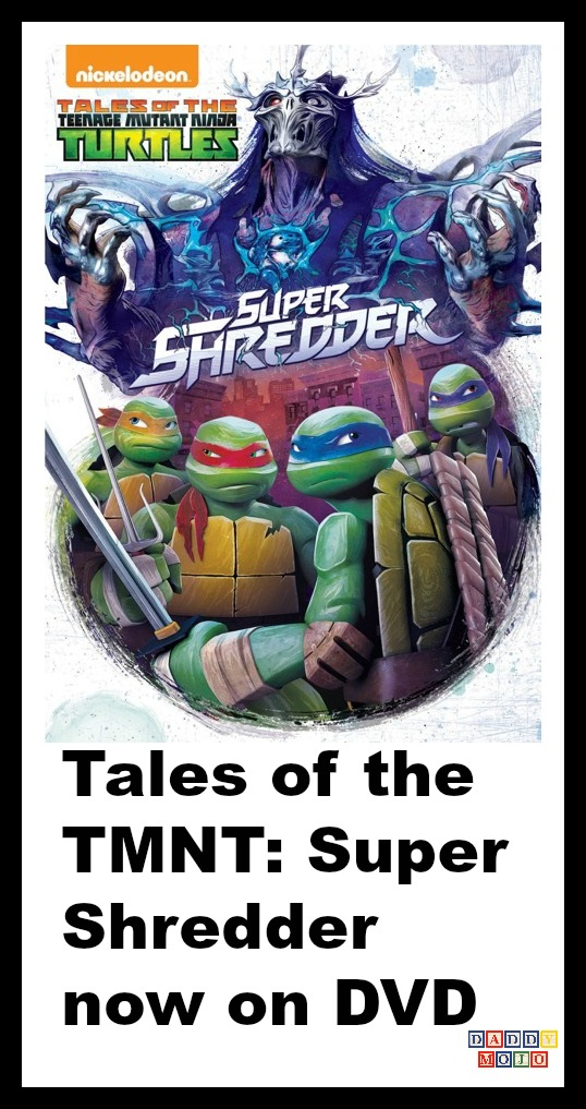 Tales Of The Tmnt Super Shredder Now On Dvd