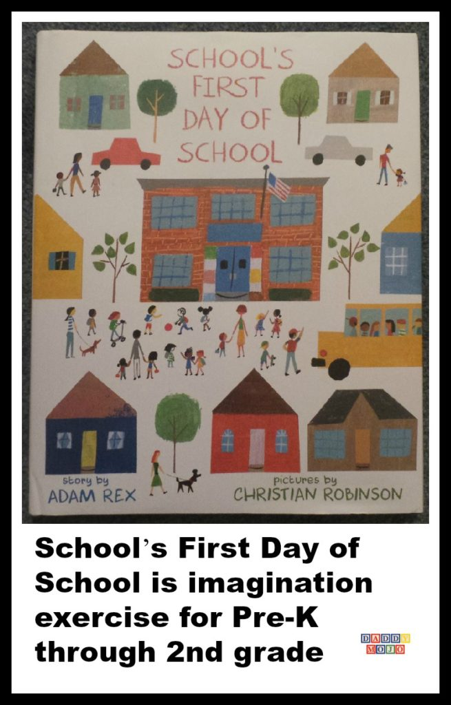 School's First Day of School, imagination exercise for Pre-K