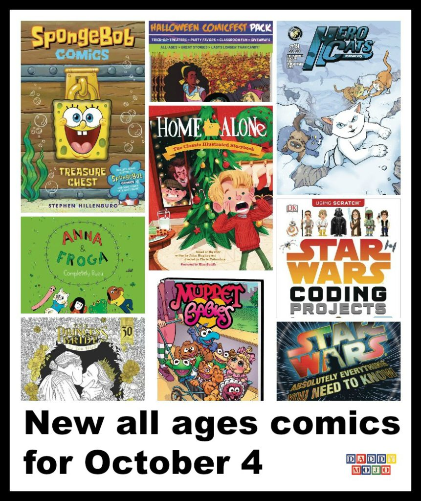 New all ages comics for October 4